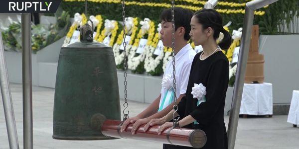 بالفيديو. اليابان  حيات ذكرى الهجوم النووي على هيروشيما
