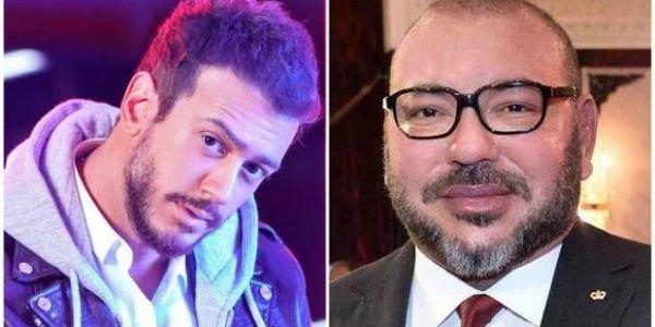 بالفيديو. ها الكادو اللي دار سعد لمجرد للملك محمد السادس فعيد ميلادو