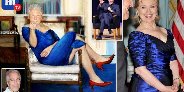 صافي قوادت.. لقاو لوحة ديال بيل كلينتون بحوايج العيالات فدار الملياردير المنتحر جيفري إيبستاين