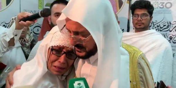 بالفيديو. نايضة فالسعودية بسباب وزير الشؤون الإسلامية لي باس وعنق امرأة