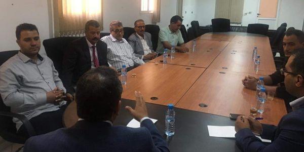 رئيس اللجنة الجهوية الجديد تلاقى عائلات المتابعين فأحداث الجمعة الكحلة بالعيون
