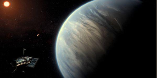 لأول مرة فالتاريخ. لقاو الما في كوكب من غير الأرض