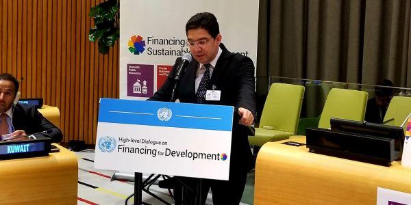بوريطة استعرض تجربة المغرب فمجال تمويل التنمية فالحوار الإفريقي