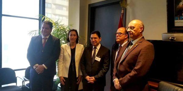 الصحرا أولا. بوريطة تلاقى مسؤول خارجية الجمعية الوطنية الفنزويلية