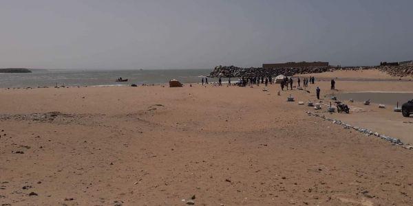 سواحل بوجدور لاحت جثة صياد شنابري