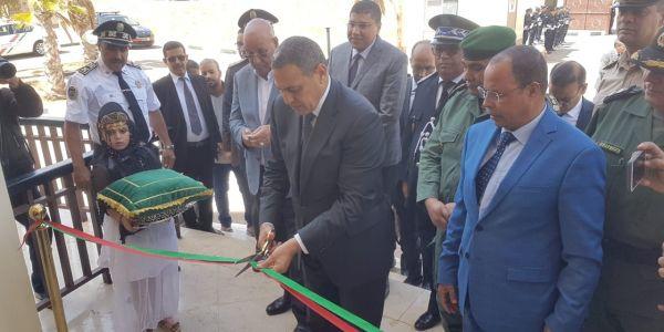 بالتصاور. المديرية العامة للأمن الوطني افتتاحات اول مدرسة للبوليس فالصحرا