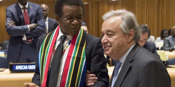 گوتيريس اجتامع بممثل جنوب افريقيا لي بغات أكبر حضور لملف الصحرا بمجلس الأمن