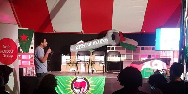 حزب العمال البريطاني عيط على البوليساريو فمهرجان العالم المتحول