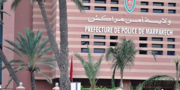 اعتقال ضابط شرطة قضائية فمراكش بسبب السكر و سب رئيس دائرة أمنية