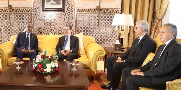 رئيس رواندا كاگامي جا لمراكش باش يشارك في مؤتمر دولي