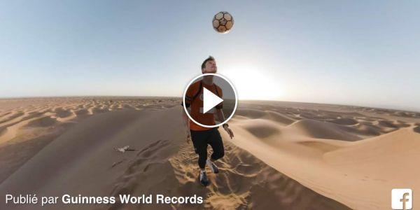 بقا هاز الكرة 5.82 كيلومتر.. بريطاني حطم رقم قياسي فالصحرا المغربية -فيديو