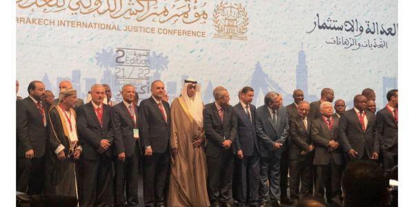 افتتاح المؤتمر الدولي للعدل في مراكش بمشاركة 40 دولة
