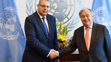 ممثل الجزائر فالأمم المتحدة الجديد بدا أنشطتو الرسمية بمعاداة الوحدة الترابية ودعم البوليساريو