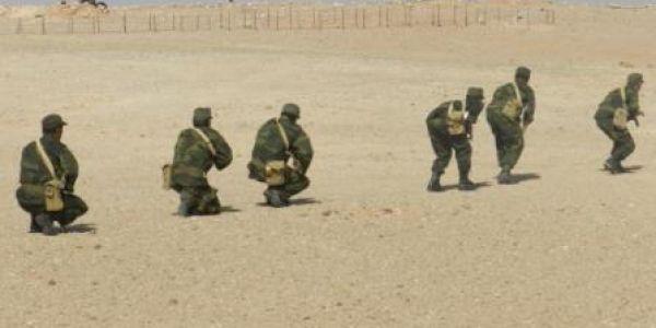 """البوليساريو متابعة 15 بعد احداث """"امهيريز"""" ودارت منطقة عسكرية"""