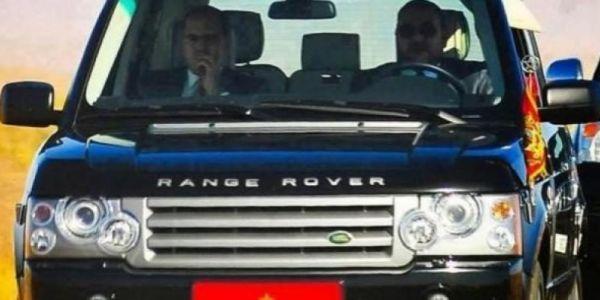 الملك محمد السادس مشى من كازا للرباط فرانج روفر