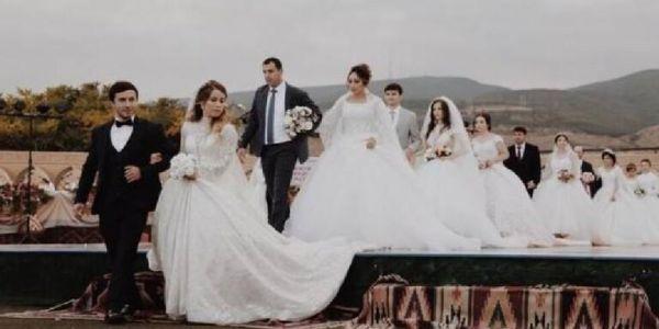 """عرس فيه 30 عروسة و10 آلاف ضيف دخل موسوعة """"گينيس"""" للأرقام القياسية"""