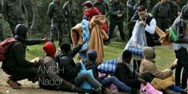 جمعية حقوقية: المخازنية تكرفسو على مهاجرين افارقة و حرقو ليهم ملابس و أغطية وزعتها عليهم جمعية لمواجهة البرد