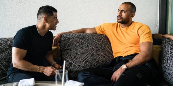 بدر هاري  مستمتع في المغرب.. وكيوجد الجديد مع الممثل المغربي سعيد التغماوي