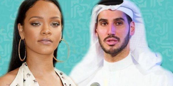 بعد 3 سنين وهي مصاحبة مع السعودي حسن جميل.. المغنية العالمية ريهانا كتوجد لعرسها