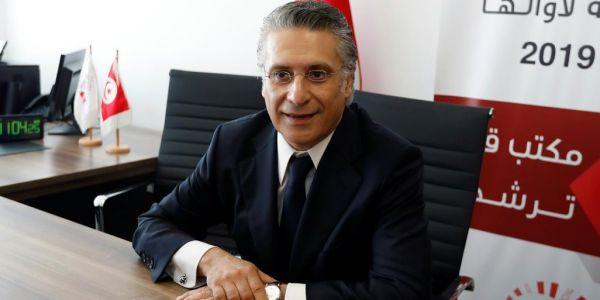القضاء التونسي يطلق سراح نبيل القروي المرشح الرئاسي للبلاد