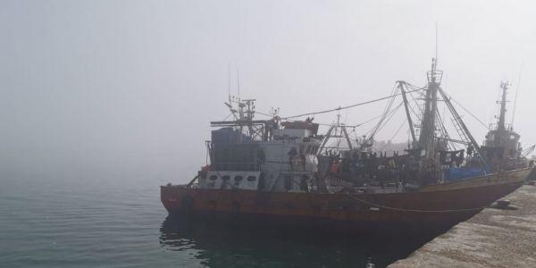 خسائر مادية فاصطدام بين سفينة ديال البحرية الملكية ومركب صيد نواحي طرفاية