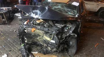 حادث دهس سيارة لمواطنين بمحلات للمؤكولات خلق حالة استنفار بمراكش – تصاور وفيديو