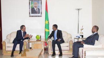 التقارب الموريتاني المغربي. مباحثات بين حميد شبار والوزير الأول الموريتاني