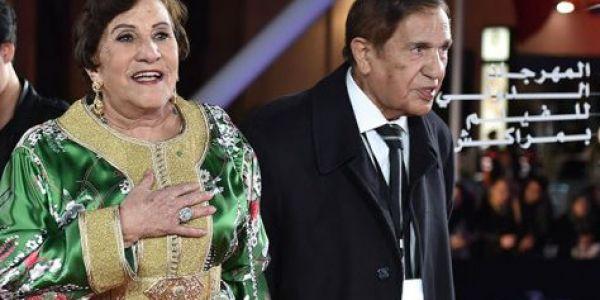 التفاتة زوينة من مراكش.. روح أمينة رشيد وراجلها عبد الله شقرون حاضرين فالمهرجان