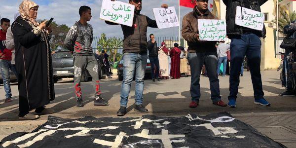 """تأجيل محاكمة الرابور الكناوي لي مشارك ف أغنية """"عاش الشعب"""" ومديرية الأمن طرف مدني"""