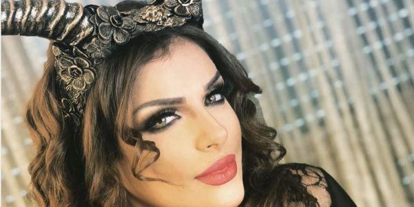 مشاهير مغربيات محتافلات بالهالووين وكل وحدة والشخصية لي اختارت -تصاور