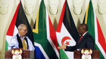 وخا المغرب كيرطب.. جنوب افريقيا: العلاقة بالبوليساريو مزيانة