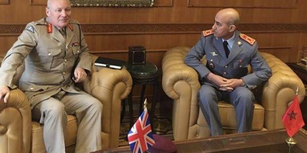الجنرال دوكور دارمي الوراق استقبل كبير مستشاري وزارة الدفاع البريطانية لشؤون الشرق الأوسط