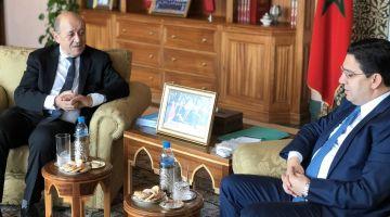 علاش داير لقاء بوريطة ووزير الخارجية الفرنسي فالرباط