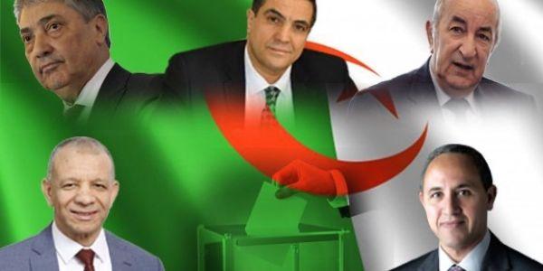 رسميا. المجلس الدستوري الجزائري صادق على مرشحي الرئاسيات وهاشكون هما