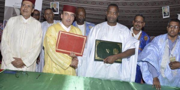 المغرب غادي يبني ملعب فموريتانيا.. عبيابة وقع الاتفاقية