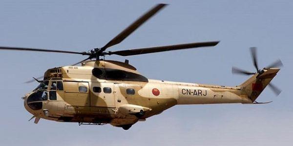 خبار سقوط ايليكوبتير جبهة الداخلة كدوب.. وماليه البوليساريو