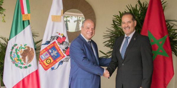 """زيارة مرتقبة لحاكم ولاية """"أغواسكالينتس"""" المكسيكية إلى المغرب"""