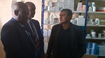 وفد دبلوماسي جنوب إفريقي دار زيارة لمخيمات تندوف