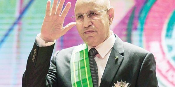 الرئيس الموريتاني استقبل مبعوث من زعيم البوليساريو ابراهيم غالي