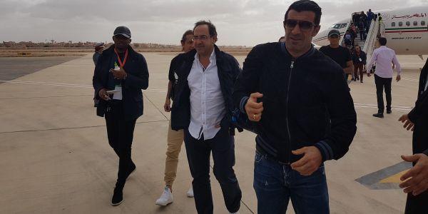 طيارات اللعابة والمشاركين فكَالا العيون وصلو للمطار – تصاور