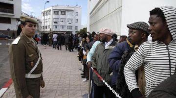 علاش سلطات الناظور ماعاطياش حقوق للمهاجرين الافارقة بحال باقي المدن المغربية؟