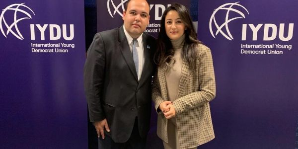 انتخاب عضوة فشبيبة الإستقلال فالإتحاد الدولي للشباب فبروكسل