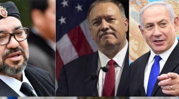 نتانياهو تلاقى وزير خارجية ميريكان باش يطلبو يهضر مع محمد السادس لتطبيع العلاقات مع إسرائيل