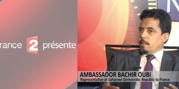 """الوثائقي الفرنسي على المغرب لي بانت فيه الخريطة مكمولة مازال مقلق البوليساريو.. احتجات ضد """"فرانس 2"""""""