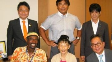 الجبهة فاليابان. ثلاث برلمانيين يابانيين دارو مجموعة مناصرة للبوليساريو