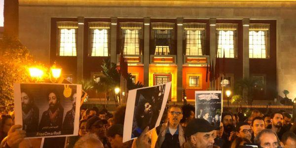 هيومن رايتس ووتش: 2019.. انتكاسة حقوقية بالمغرب: اعتقالات بسبب الخطوط الحمراء والحريات الفردية