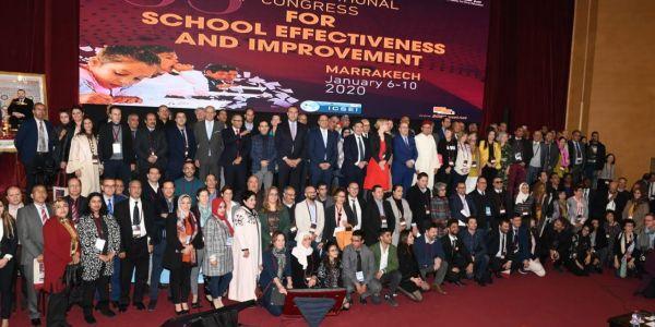 النسخة 33 للكونگرس العالمي لتطوير المدارس. ها اللي ربح المغرب