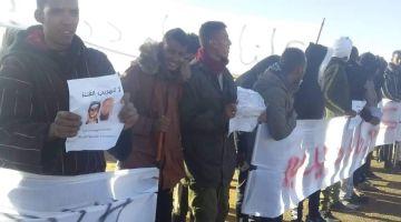 تواصل الاحتجاجات فتندوف على فرار سجين محكوم بالإعدام