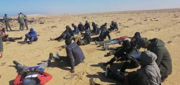 بوليس المرسى فالعيون قرقبو على 12 حراك من افريقيا جنوب الصحرا