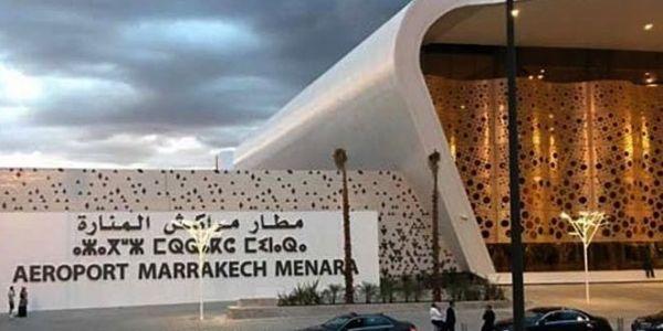 روينة وقعات اليوم فمطار مراكش ـ المنارة بسباب طيارة